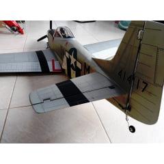 USADO - AEROMODELO  KYOSHO P-51 MUSTANG CLASSE 120 4T. O.S.