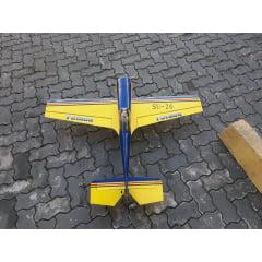 USADO - AEROMODELO SUKHOI SU-26 - ELÉTRICO