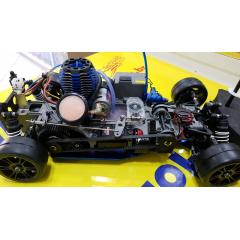 USADO - AUTOMODELO TRAXXAS NITRO 4TEC - RTR
