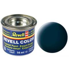 Tinta Revell para plastimodelismo - Esmalte sintético - Cinza granito fosco - 14ml 32169