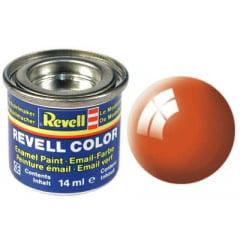 Tinta Revell para plastimodelismo - Esmalte sintético - Laranja brilhante - 14ml 32130