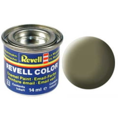 Tinta Revell para plastimodelismo - Esmalte sintético - Oliva claro fosco - 14ml 32145