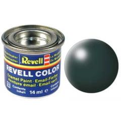 Tinta Revell para plastimodelismo - Esmalte sintético - Verde pátina seda - 14ml 32365