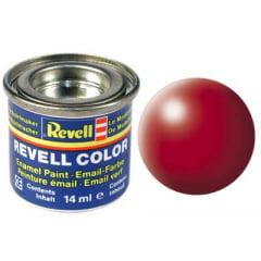 Tinta Revell para plastimodelismo - Esmalte sintético - Vermelho fogo - 14ml 32330
