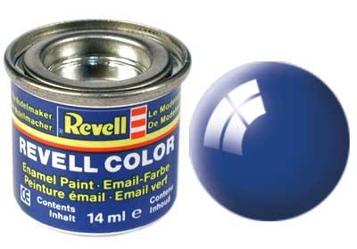 Tinta Revell para plastimodelismo - Esmalte sintético - Azul ultramarino - 14ml 32152