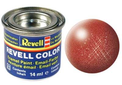 Tinta Revell para plastimodelismo - Esmalte sintético - Bronze - 14ml 32195