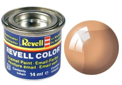 Tinta Revell para plastimodelismo - Esmalte sintético - Laranja transparente - 14ml 32730