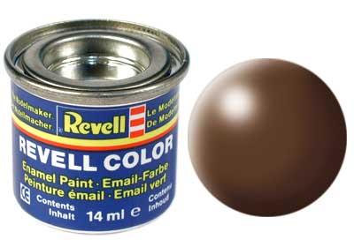 Tinta Revell para plastimodelismo - Esmalte sintético - Marrom seda - 14ml 32381