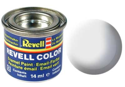 Tinta Revell para plastimodelismo - Verniz transparente fosco - esmalte sintético - 14ml 32102