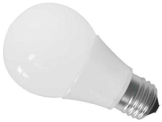 Lâmpada Bulbo LED A60 10W - cores