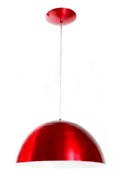 Pendente modelo Meia Bola 40cm cores diferenciadas