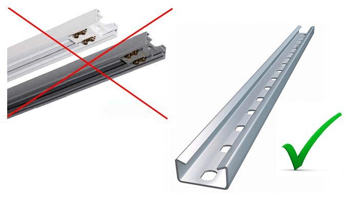 Spot para Trilho para lâmpada Comum tipo Bulbo LED modelo Corneta
