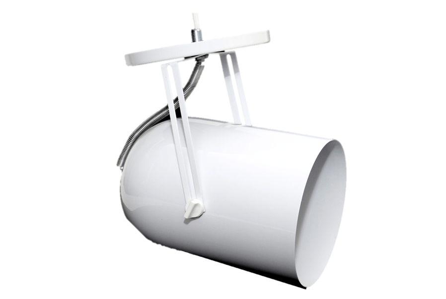 Spot Sobrepor Mod. Capsula PAR38 p/ 1 lâmpada - Branco ou Preto