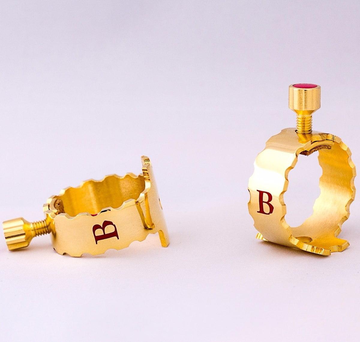 Abraçadeira Barkley Alliance Gold Sax Alto Metal