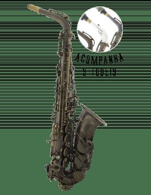Saxofone Alto Vermont PROVENCE Seminovo