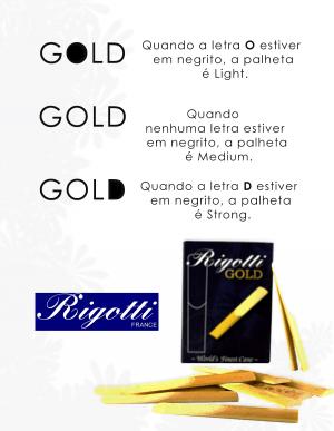 KIT RIGOTTI SAX TENOR (LIGHT, MEDIUM, STRONG) Nº 2