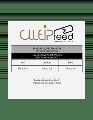 Palheta Sintética Fibra Clleip Reed - Sax Baritono