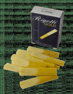 Palheta Rigotti Sax Baritono caixa com 10