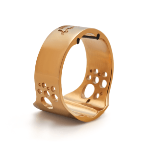 Abraçadeira Everton Ring Ligature Gold P/ Sax Alto (Boq. Massa)
