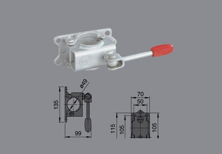 Abraçadeira para Pedestal Ø48mm - ALKO