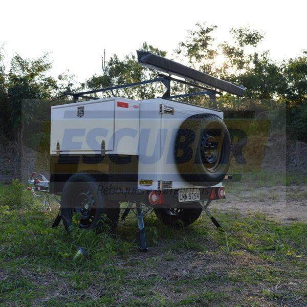 Carretinha Reboque Trailer Off Road 4×4 - ESCUBER