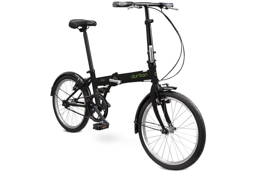Bicicleta Dobrável DURBAN - BAY 1 - Preta