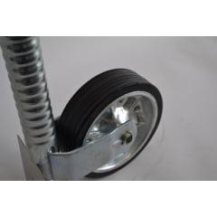 Pedestal Al-Ko 300kg com Roda Boba 5ª Roda para Carreta, Reboques e Trailers