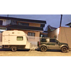 Trailer Karmann Ghia - KC-270 - Colibri