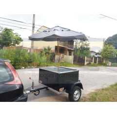 Reboque Food Trailer - Baby Churrasco - ESCUBER