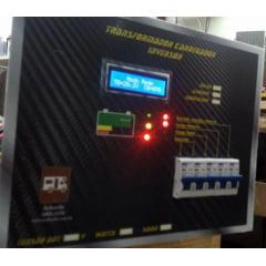 Conversor Inversor SENOIDAL e Controlador PWM 30A de Carga SOLAR