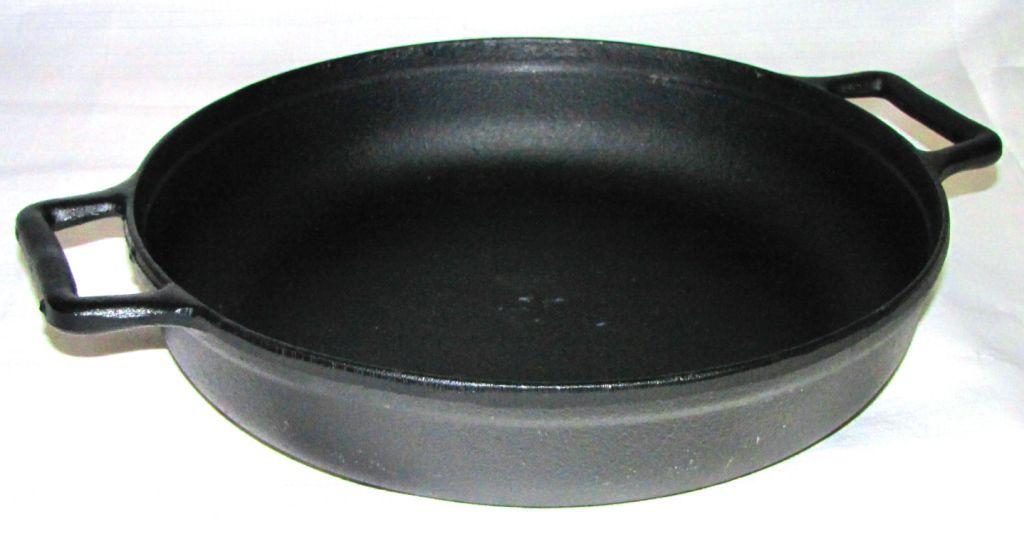 frigideira de ferro fundido 37, frigideira grande, frigideira grill, chapa de ferro, frigideira antiaderente