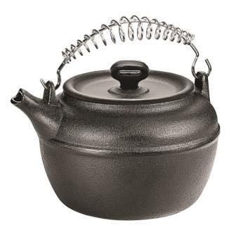 chaleira de ferro fundido, bule, 2 litros, panela mineira