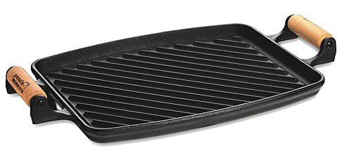 chapa de ferro fundido, 33 cm, bifeira, bifeteira, grelha, grill