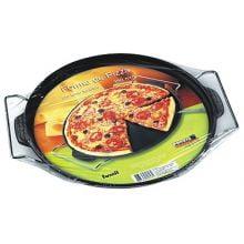 forma pizza ferro fundido 35 com suporte, assadeira de pizza de ferro, pedra para assar pizza, pizza na pedra