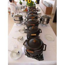 panela de ferro fundido, panela de feijoada, caldo, caldeirão de ferro, natular 6, panela buffet