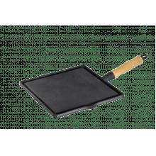 Bifeteira lisa quadrada 26 x 26 cm Lib