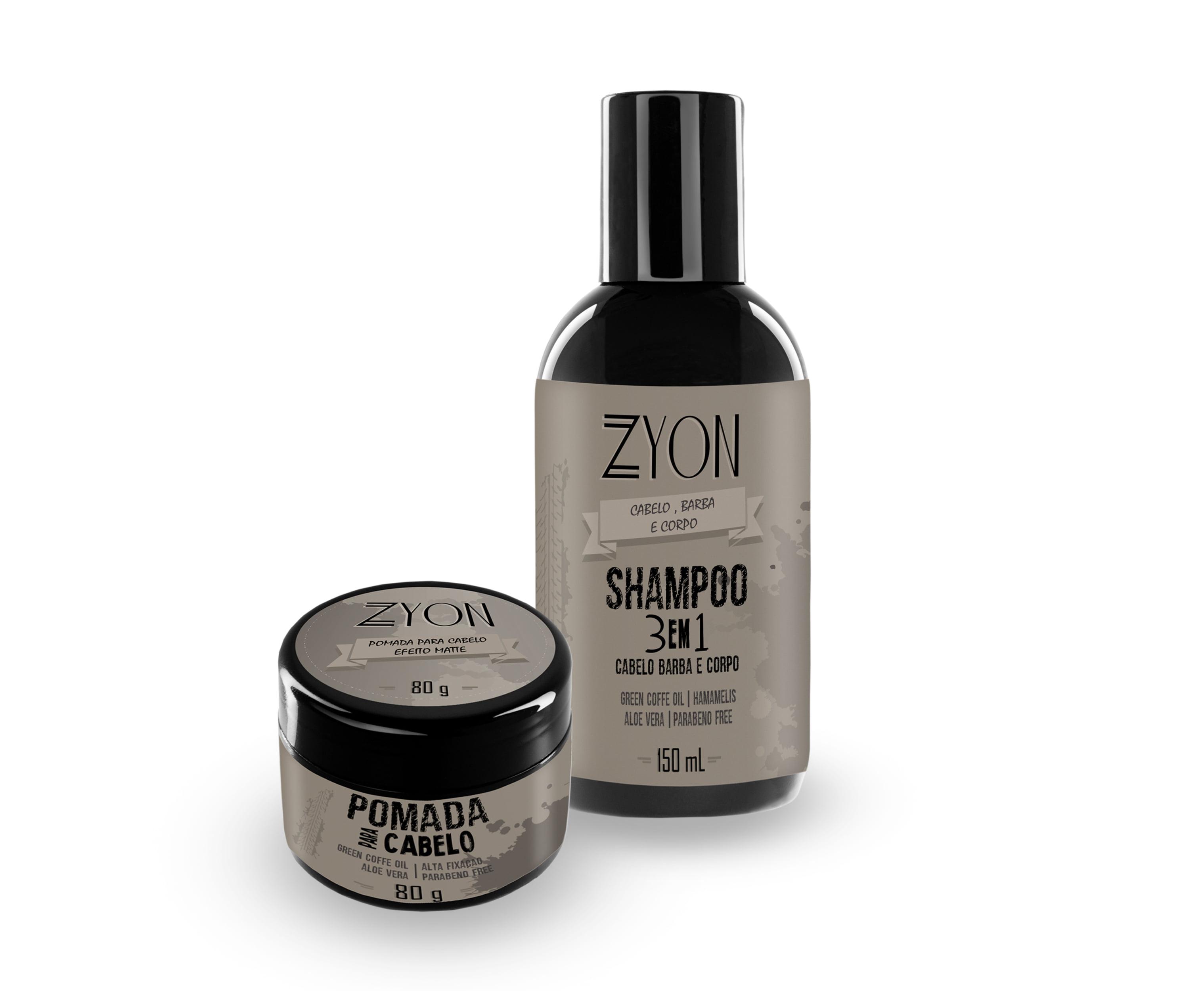 Kit Shampoo e Pomada Matte