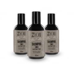 Kit Shampoo para Barba Zyon Cosméticos