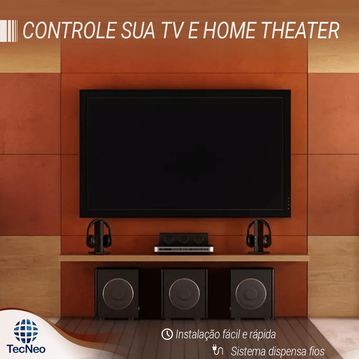 Controle sua Tv e Home Theater