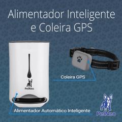 Alimentador Inteligente e Coleira GPS