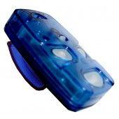 Controle Remoto Linear HCS 4  Botões Azul  - Modelo 433  - Ideal para Condomínios