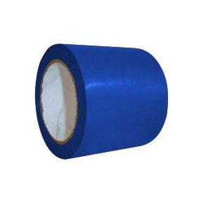 Fita Demarcação de Solo - Cor  Azul Tamanho  30 mts Ideal para Escadas, Pisos e Vidros - Largura de 10 cm