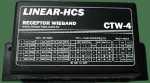 Receptor Linear HCS Ctw 4  - Ideal para Sistema de Controle de Acesso Porta Pedestre