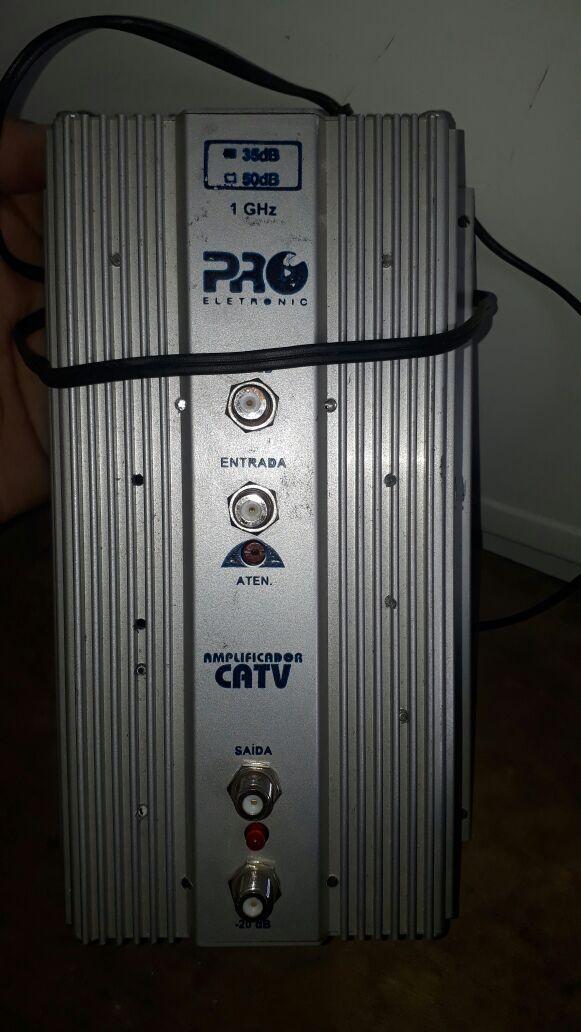 Amplificador Antena Coletiva Marca: Pro Eletronic Modelo 50 fb