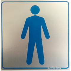 Placa Sanitário Masculino