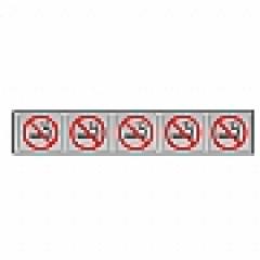 Placa Sinalização Elevadores Proibido Fumar