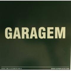 Placa de Sinalização Certificada GARAGEM - Fotoluminescente