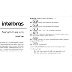 Aparelho TDMI 300  - Aparelho de Interfones com Botão de Portaria
