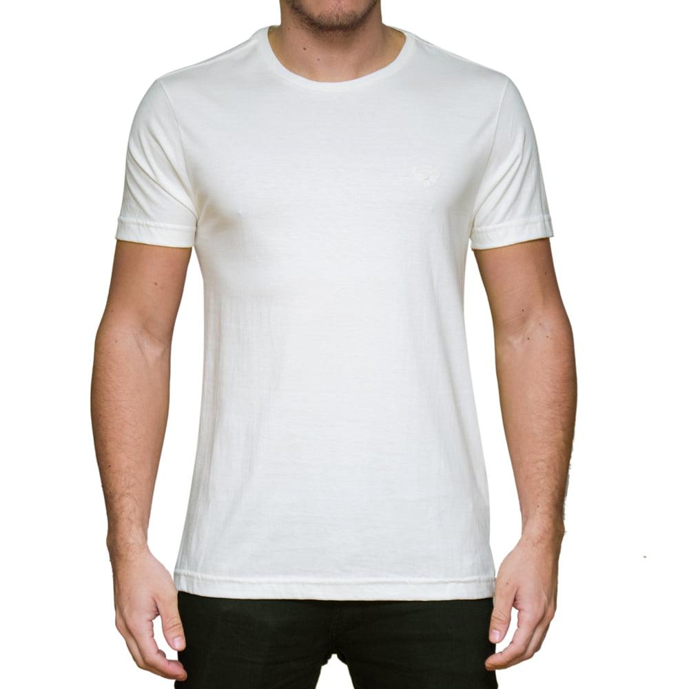 CAMISETA LOGIN M/C - OFF WHITE
