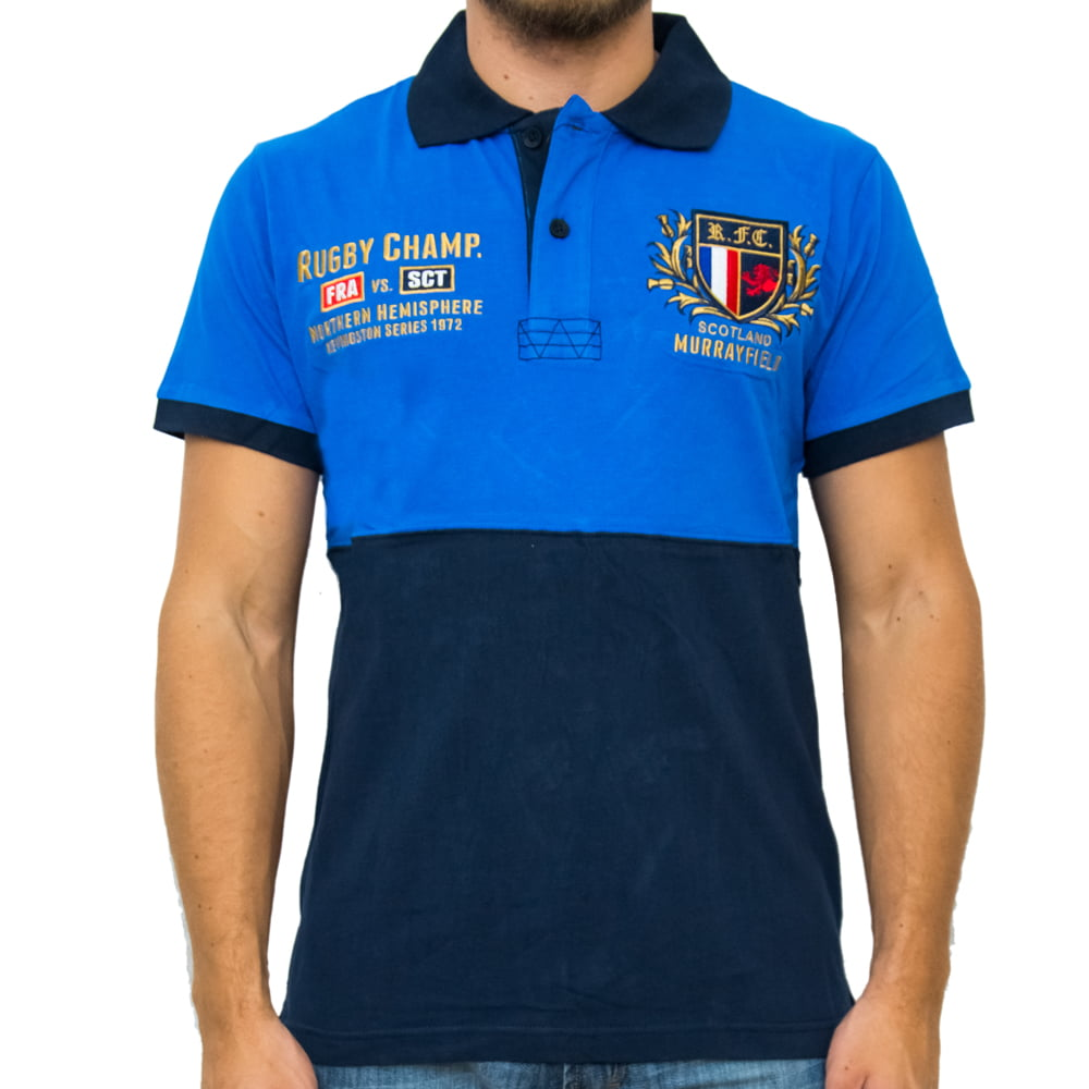 POLO HARDER RUGBY M/C - AZUL